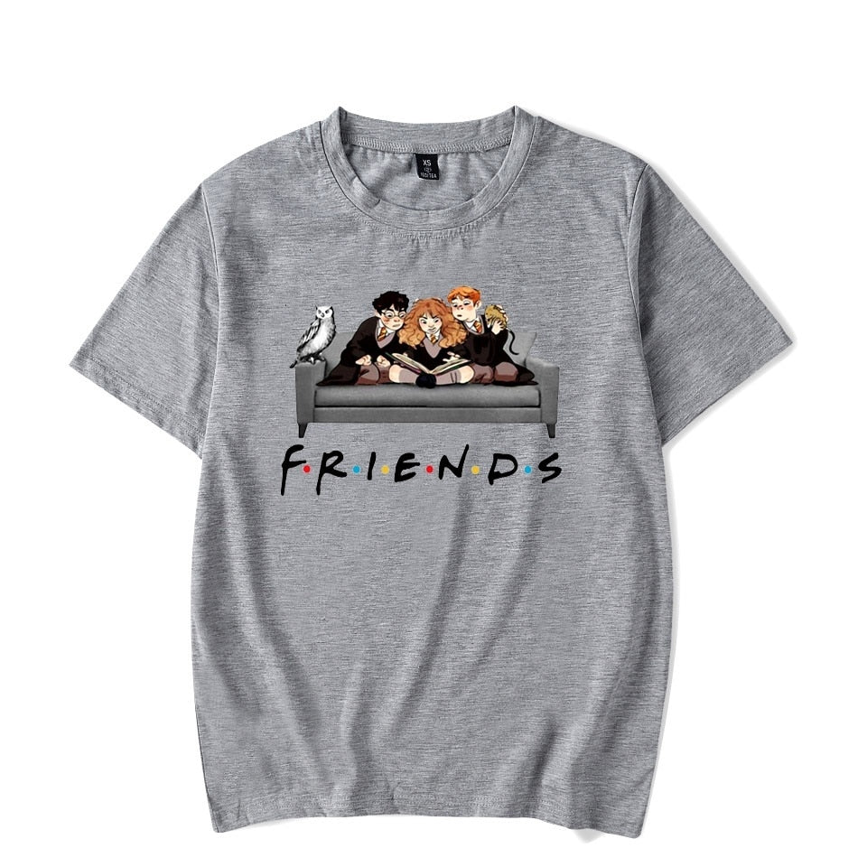 Friends Tv Show Femme Shirts Women T Shirt Harajuku Summer 90s Tshirt Streetwear Womens Tops Tees Graphic T-shirt Short Sleeve