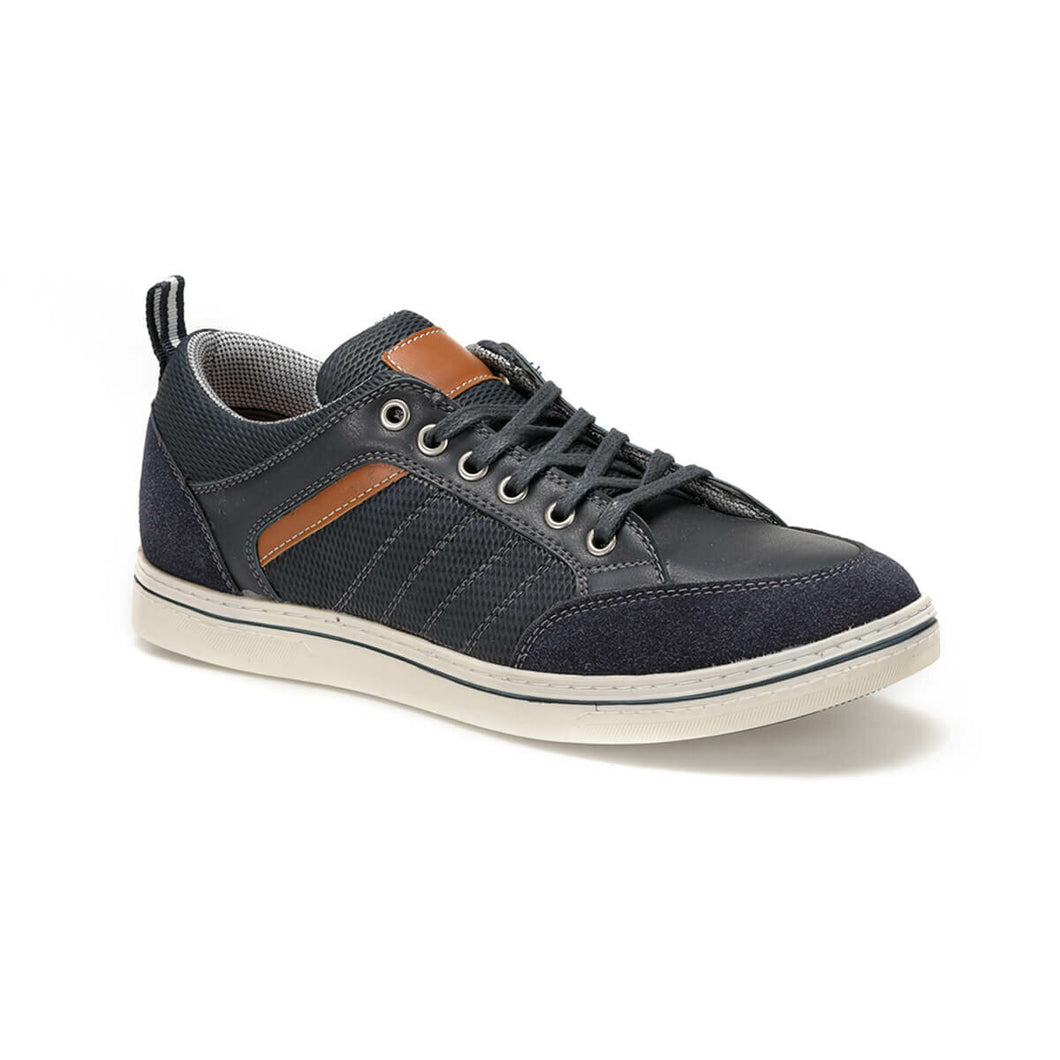 FLO RD-0012 C 19 Black Male Shoes Panama Club