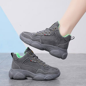 Ladies Flat Shoes Women Students Wild Casual Sports Shoes Woman Breathable Mesh Running Shoes Ladies Casual Sneakers