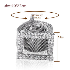 Fashion waist chain belt gold metal belts for women 2020 luxury brand high quality strass ceinture femme Romantic Party Jewelry