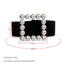 Load image into Gallery viewer, Fashion waist chain belt gold metal belts for women 2020 luxury brand high quality strass ceinture femme Romantic Party Jewelry