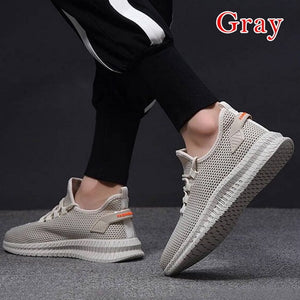 Men Tennis Shoes Soft Sneakers Mesh Breathable Shoes Lightweight Sport Shoes Training Fitness Athletic Shoes tenis masculino