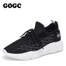 Load image into Gallery viewer, GOGC Shoes Woman Sneakers zapatos de mujer Female platform Lace Up Causal Shoe for Women basket femme chaussures Flat Shoe 690