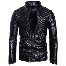 Load image into Gallery viewer, New Style MEN'S Leather Coat 2019 Autumn New Style Europe And America Foreign Trade Ouma Coat Large Size Leather Jacket B026
