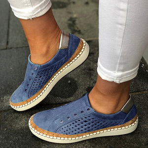 LITTHING Leather Loafers Casual Shoes Women Slip-On Sneaker Comfortable Loafers Women Flats Tenis Feminino Zapatos De Mujer