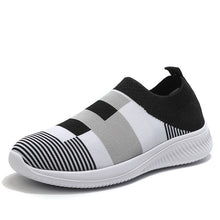 Load image into Gallery viewer, Women Spring Sneakers 2020 Summer Slip on Knitting Flats Casual Lofers Ladies Trainers Fashion Footwear Mocassin Femme 2020