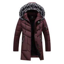 Load image into Gallery viewer, New 2018 Men Jacket Coats Thicken Warm Winter Windproof Jackets Casual Mens Down Parka Hooded Outwear Cotton-padded Jacket