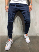 Load image into Gallery viewer, jeans for men slim fit pants classic 2019 jeans male denim jeans Designer Trousers Casual skinny Straight Elasticity pants