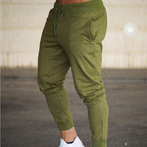 Men's Jogging pants sport Joggers Gym Trousers Soft Elasticity Running Pants Gym Men Solid Soccer Basketball Sweatpants