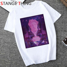 Load image into Gallery viewer, Vaporwave Cool Print T Shirt Men Hip Hop Unisex Aesthetic T-shirt Fashion Funny Cartoon Tshirt Grunge Streetwear Top Tees Male