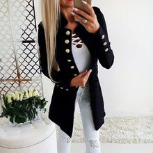 Load image into Gallery viewer, Spring Autumn Suit Blazer Women Casual Single Breasted Women Long Jackets Elegant Long Sleeve Blazer Outerwear 2020 New