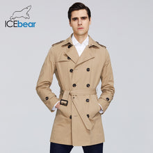 Load image into Gallery viewer, ICEbear 2020 New men's trench coat high-quality men's long lapel windbreakers men's brand clothing MWF20709D