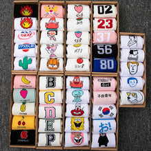 Load image into Gallery viewer, Hot Sell fashion Women's Socks Cute Elegant Lovely Cartoon Sweet Harajuku Cotton Animals Casual man and Woman Hip hop Funny Sock