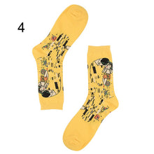 Load image into Gallery viewer, Pure Colored 10 Letters Casual Socks Harajuku Fluorescent Green Tube Socks Men&Women Unisex Cotton Girls Winter Happy Socks 1236