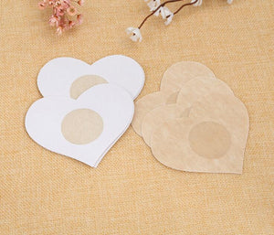 Wholesale Hot Sale 2Pcs/1Pair Silicone Nipple Cover Bra Pad Skin Adhesive Reusable Invisible Breast Petals For Party Dress