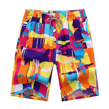 Load image into Gallery viewer, Hot Beach Shorts Men Women Summer Quick Dry Comfortable Beachwear Homme Couple Casual Board Short Plus Size 4XL