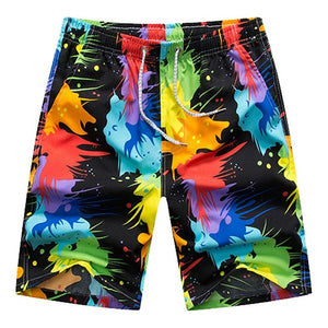 Hot Beach Shorts Men Women Summer Quick Dry Comfortable Beachwear Homme Couple Casual Board Short Plus Size 4XL