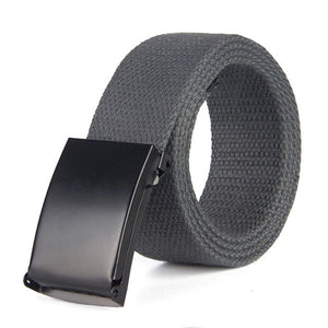 Men Belt 2020 Fashion Unisex Army Tactical Waist Belt Jeans Male Casual Luxury Canvas Webbing Waistband Ceinture Femme