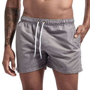 Pocket Swimming Shorts For Men Swimwear Man Swimsuit Swim Trunks Summer Bathing Beach Wear Surf  beach Short board pants Boxer