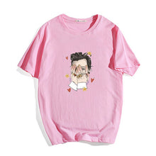 Load image into Gallery viewer, Fashion Tee Tops Harry Styles T Shirt Femme 4 Colors Harajuku Funny T Shirt Women Kawaii Hip Hop T-shirts 90s Girls Tops Female