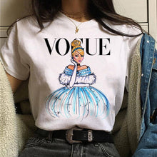 Load image into Gallery viewer, vogue princess t shirt aesthetic women fashion girls 90s tshirt harajuku ulzzang print Graphic summer t-shirt top tee female