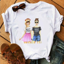 Load image into Gallery viewer, Vogue Red Lip Eyelash 3D Print T Shirt Women Short Sleeve O Neck Loose Tshirt 2019 Summer Fashion Women Tee Shirt Tops