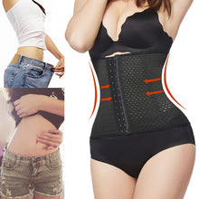 Load image into Gallery viewer, Corset  Waist trainer corsets sexy Steel boned steampunk party corselet and bustiers Gothic Clothing Corsage modeling strap