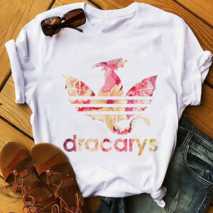 Female T-shirt Clothes for Women T-shirt Funny Summer New White Casual Got Unisex T-shirt Cool Harajuku Street Clothing T-shirt