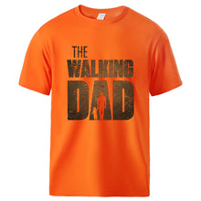 Load image into Gallery viewer, Man T shirt Summer Tee The Walking Dad Print Male Short Sleeve Tops 2020 Homme Casual Workout Top Hot Sell Father Day Gift Tee