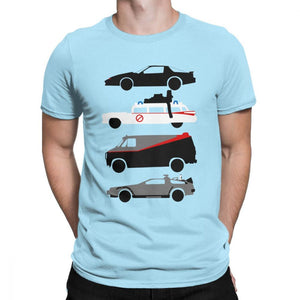 Knight Rider Kitt Ghostbustears Men Tshirt The Car's The Star Casual O Neck T-Shirt Cotton
