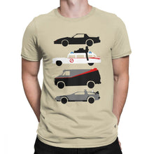 Load image into Gallery viewer, Knight Rider Kitt Ghostbustears Men Tshirt The Car's The Star Casual O Neck T-Shirt Cotton