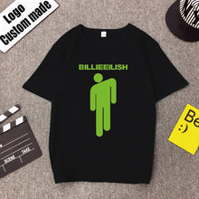 Load image into Gallery viewer, Fans Camiseta T Shirt Aesthetic Streetwear Mujer Billie Eilish Tshirt Hipster Graphic shirt Hip Hop Harajuku Femme Homme T-shirt