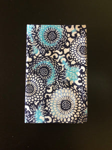 Bingata arabesque chrysanthemum pattern Japanese towel
