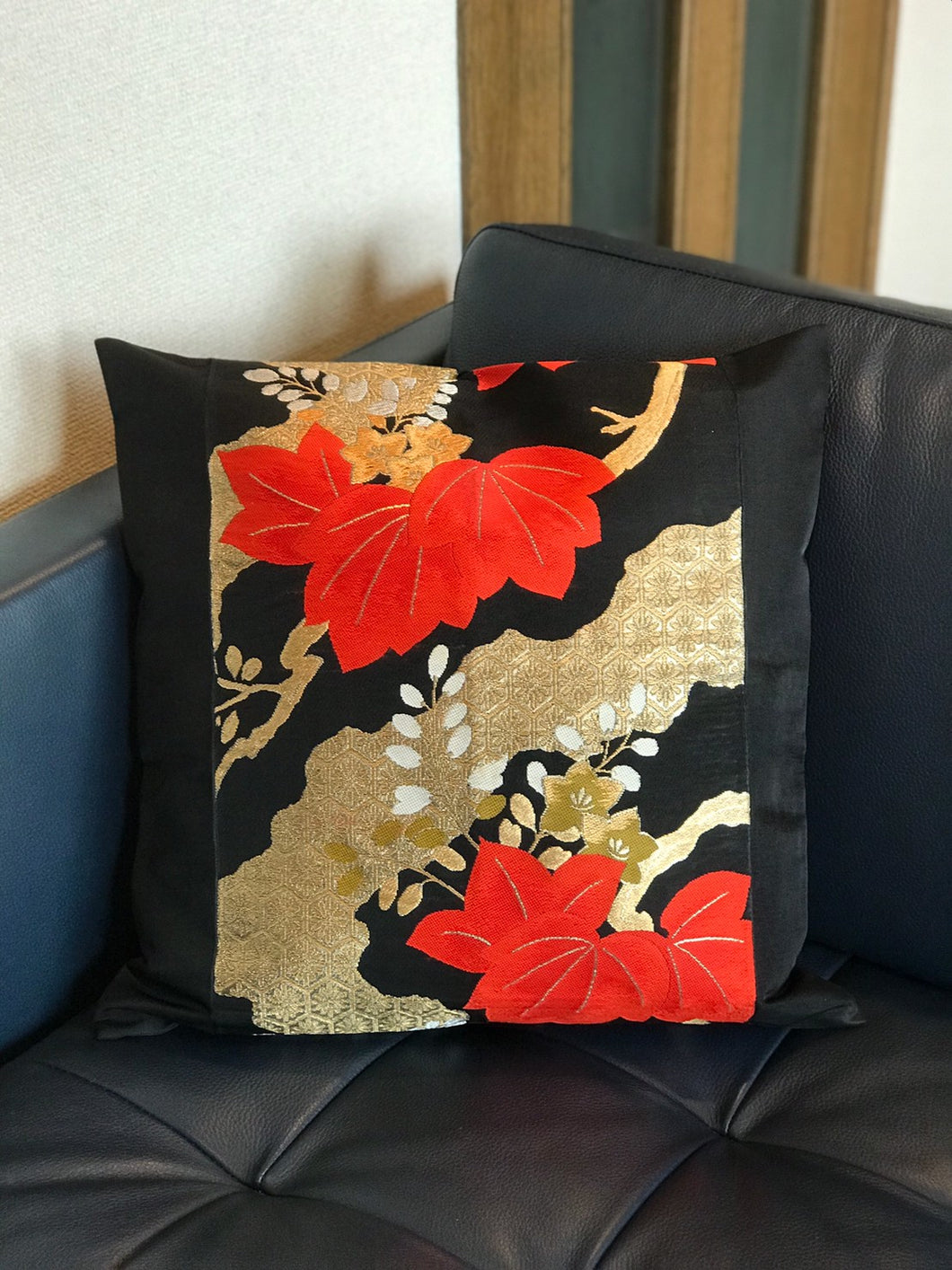 Decorative Paulownia Floral Pillow cover