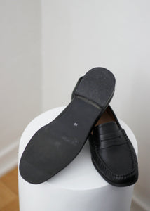 LEATHER LOAFERS, 38