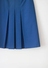 Load image into Gallery viewer, BLUE VINTAGE SKIRT