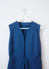 Load image into Gallery viewer, BLUE VINTAGE VEST
