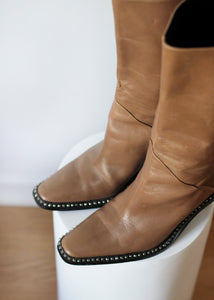 LEATHER BOOTS, 39