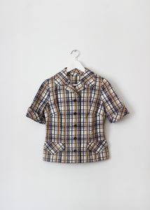 CHECKED VINTAGE SHIRT