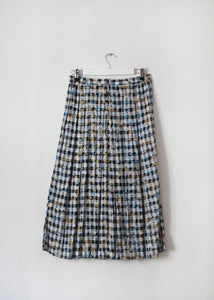 PLEATED VINTAGE SKIRT