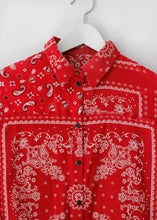 Load image into Gallery viewer, DIESEL PAISLEY PRINT SHIRT