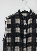 Load image into Gallery viewer, DIESEL SLEEVELESS SHIRT CHECKED