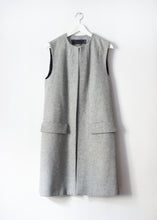 Load image into Gallery viewer, LONG GREY VEST