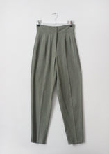 Load image into Gallery viewer, HIGH WAIST VINTAGE PANTS