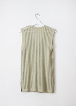 Load image into Gallery viewer, GREEN KNIT VEST