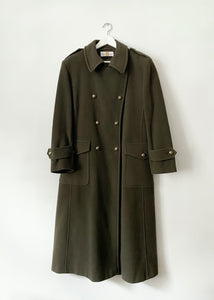 VINTAGE MILITARY STYLE COAT