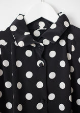 Load image into Gallery viewer, VINTAGE POLKA DOT SHIRT