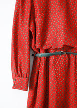 Load image into Gallery viewer, BELTED VINTAGE DRESS