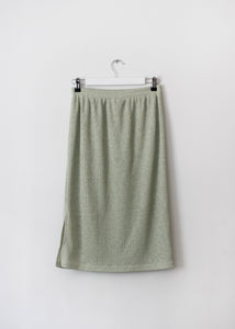 RIBBED VINTAGE SKIRT