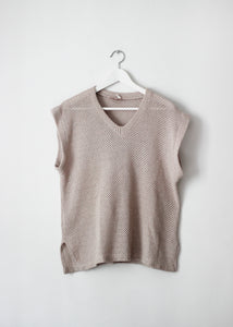 SLEEVELESS VINTAGE KNIT
